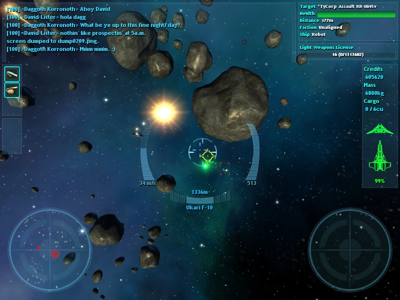 Vendetta Online - Space Combat MMORPG for Windows, Mac, Linux and Android